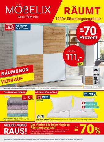 Möbelix Werbeflugblatt (bis einschl. 21-01)