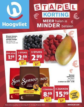Hoogvliet reclame folder (geldig t/m 28-01)