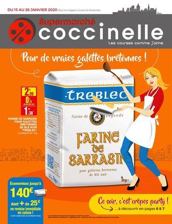 Coccinelle Supermarché catalogue publicitaire (valable jusqu'au 26-01)
