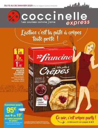 Coccinelle Express catalogue publicitaire (valable jusqu'au 26-01)