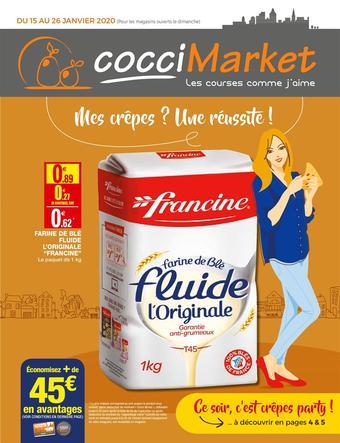 Coccimarket catalogue publicitaire (valable jusqu'au 26-01)