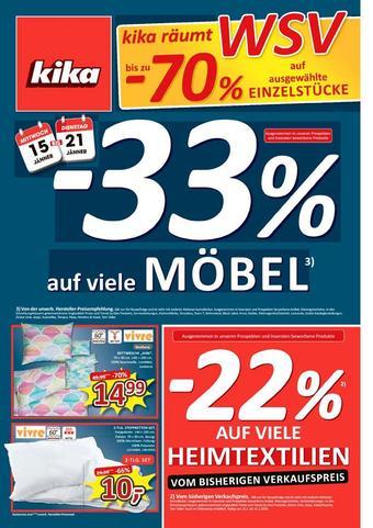 kika Werbeflugblatt (bis einschl. 21-01)