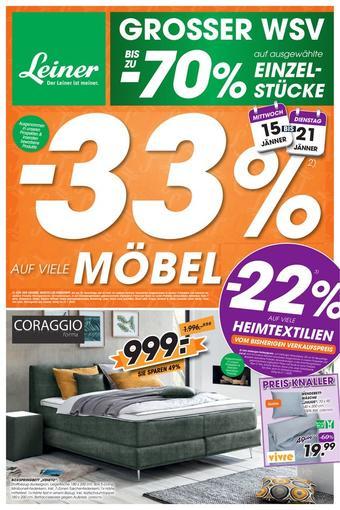 Leiner Werbeflugblatt (bis einschl. 21-01)