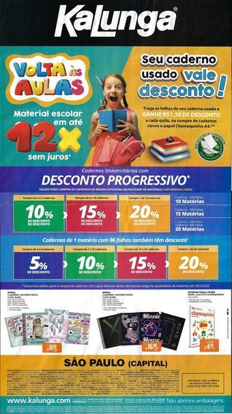 Kalunga catálogo promocional (válido de 10 até 17 29-02)
