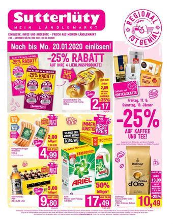 Sutterlüty Werbeflugblatt (bis einschl. 22-01)