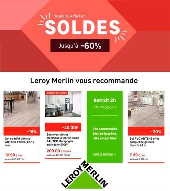 Leroy Merlin catalogue publicitaire (valable jusqu'au 04-02)