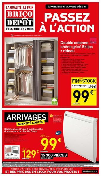 Brico Dépôt catalogue publicitaire (valable jusqu'au 31-01)