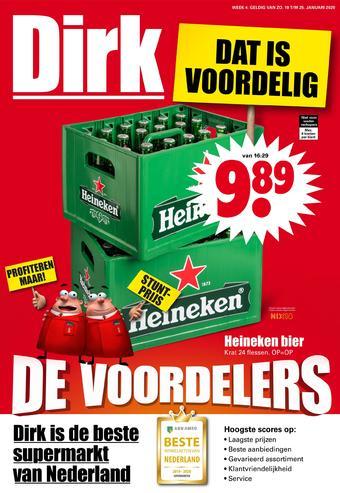 Dirk reclame folder (geldig t/m 25-01)