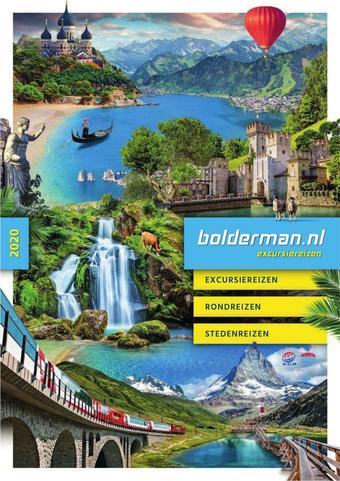 Bolderman Excursiereizen reclame folder (geldig t/m 26-01)