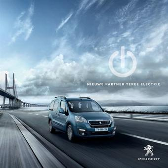 Peugeot reclame folder (geldig t/m 31-12)