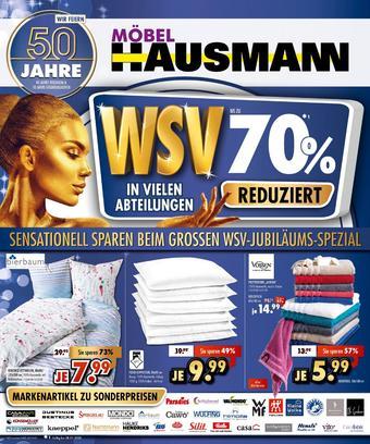 Möbel Hausmann Prospekt (bis einschl. 28-01)