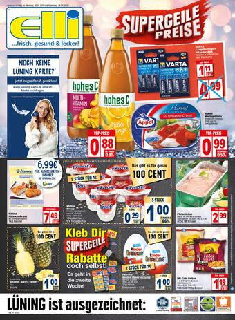 Elli Markt Prospekt (bis einschl. 25-01)