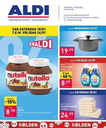 ALDI reclame folder (geldig t/m 25-01)
