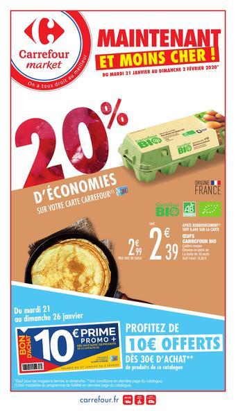 Carrefour Market catalogue publicitaire (valable jusqu'au 02-02)