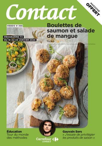 Carrefour Contact catalogue publicitaire (valable jusqu'au 24-01)