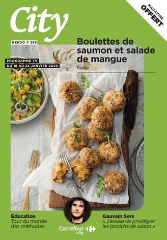 Carrefour City catalogue publicitaire (valable jusqu'au 24-01)