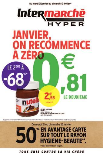Intermarché Hyper catalogue publicitaire (valable jusqu'au 02-02)