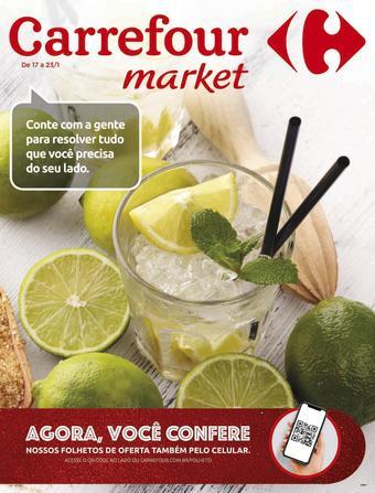 Carrefour Market catálogo promocional (válido de 10 até 17 23-01)