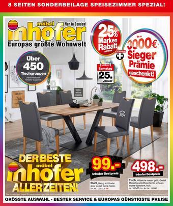 Möbel Inhofer Prospekt (bis einschl. 25-01)