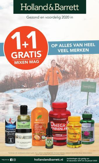 Holland & Barrett reclame folder (geldig t/m 26-01)