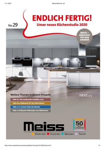 Möbel Meiss Prospekt (bis einschl. 31-03)