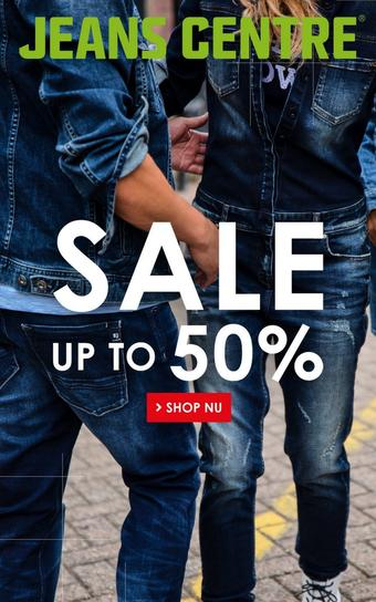 Jeans Centre reclame folder (geldig t/m 26-01)