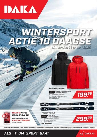 Daka Sport reclame folder (geldig t/m 26-01)