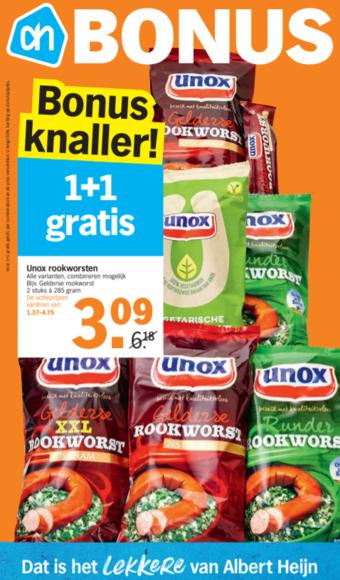 Albert Heijn reclame folder (geldig t/m 26-01)
