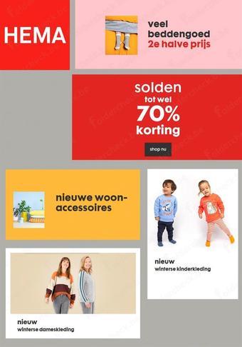 HEMA reclame folder (geldig t/m 31-01)