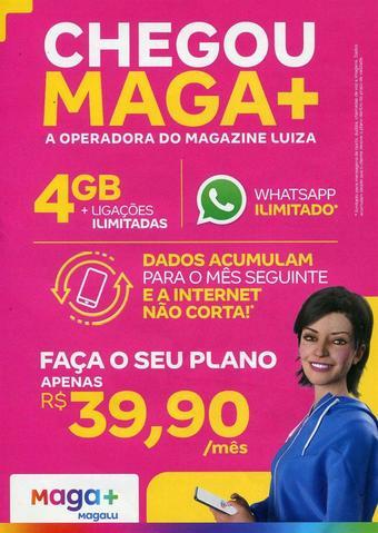 Magazine Luiza catálogo promocional (válido de 10 até 17 25-01)