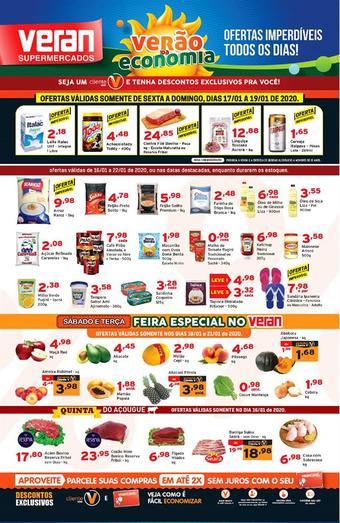 Veran Supermercados catálogo promocional (válido de 10 até 17 22-01)