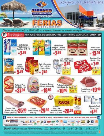 Serrano Supermercado catálogo promocional (válido de 10 até 17 22-01)