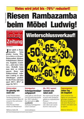 Möbel Ludwig Werbeflugblatt (bis einschl. 25-01)
