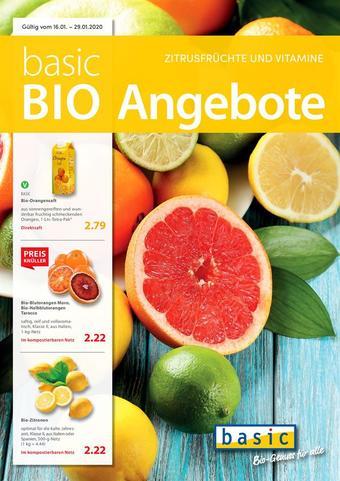 Basic Biomarkt Werbeflugblatt (bis einschl. 29-01)
