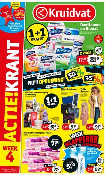 Kruidvat reclame folder (geldig t/m 26-01)