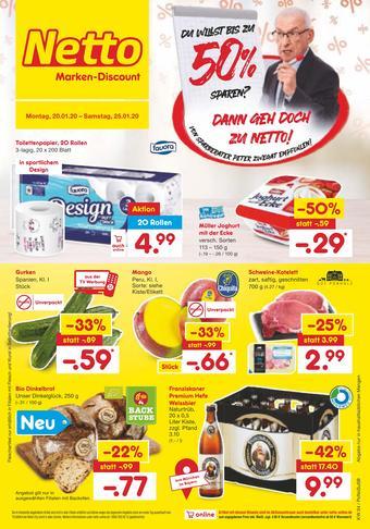 Netto Marken-Discount Prospekt (bis einschl. 25-01)