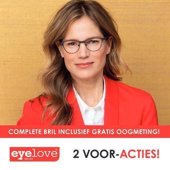 Eyelove brillen reclame folder (geldig t/m 01-02)