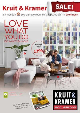 Kruit & Kramer reclame folder (geldig t/m 16-02)