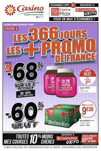 Casino Supermarchés catalogue publicitaire (valable jusqu'au 02-02)