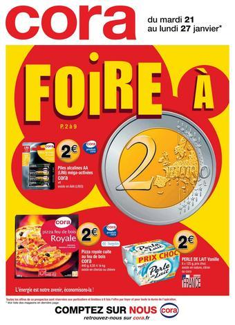 Cora catalogue publicitaire (valable jusqu'au 27-01)