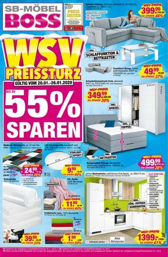 Möbel Boss Prospekt (bis einschl. 26-01)