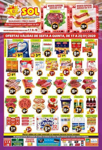 Sol Supermercados catálogo promocional (válido de 10 até 17 23-01)
