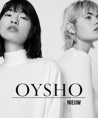 Oysho reclame folder (geldig t/m 17-03)