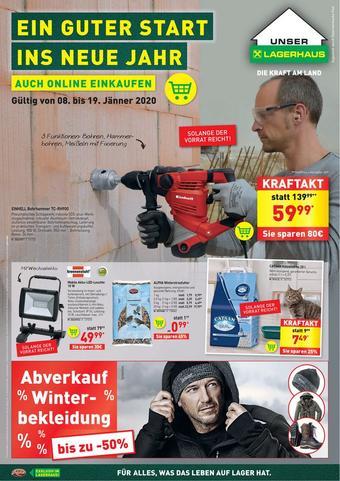 Lagerhaus Werbeflugblatt (bis einschl. 19-12)