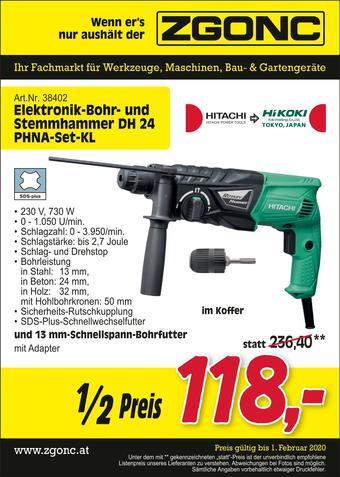 Zgonc Werbeflugblatt (bis einschl. 01-02)