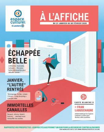 E.Leclerc catalogue publicitaire (valable jusqu'au 08-02)