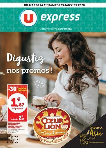 U Express catalogue publicitaire (valable jusqu'au 25-01)