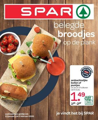 Spar reclame folder (geldig t/m 05-02)