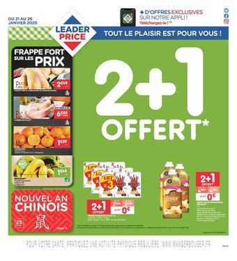 Leader Price catalogue publicitaire (valable jusqu'au 26-01)