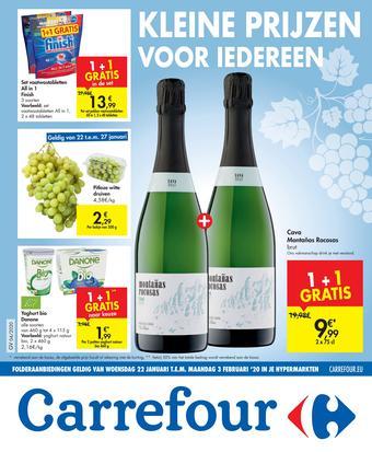 Carrefour reclame folder (geldig t/m 03-02)